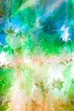 abstrakcjonistycznego kwiecisty stubarwny tła Zdjęcia Stock