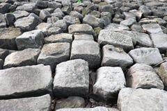 abstrakcjonistycznego mały tła stone stone tekstury ścianę Fotografia Stock