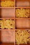 abstrakcjonistycznego makaronu tła konsystencja żywności Zdjęcia Stock