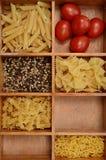 abstrakcjonistycznego makaronu tła konsystencja żywności Zdjęcia Royalty Free
