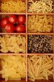 abstrakcjonistycznego makaronu tła konsystencja żywności Obrazy Stock