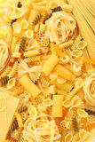 abstrakcjonistycznego makaronu tła konsystencja żywności Zdjęcie Royalty Free