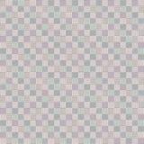 Abstrakcjonistycznego mozaika geometrycznego wektorowego patchworku bezszwowy wzór Obrazy Royalty Free