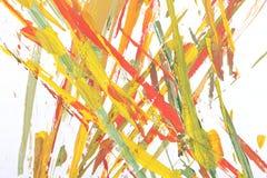 abstrakcjonistycznego muśnięcia barwiony obraz ilustracji