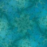 abstrakcjonistycznego niebieska tła green Obraz Royalty Free