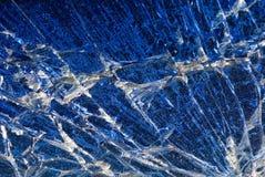 abstrakcjonistycznego niebieski tła stłuczone szkło obrazy royalty free