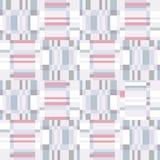 Abstrakcjonistycznego niepokoju geometryczny bezszwowy wzór Piksla mrugnięcia tekstura Obrazy Stock