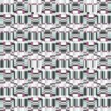 Abstrakcjonistycznego niepokoju geometryczny bezszwowy wzór Piksla mrugnięcia tekstura Zdjęcia Royalty Free