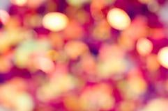 abstrakcjonistycznego niewyraźne tła oświetlenia Fotografia Royalty Free