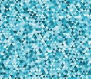 Abstrakcjonistycznego niskiego poli- wektorowego geometrycznego tła bezszwowy wzór okulary oznaczony przez okno Zdjęcia Royalty Free
