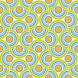 Abstrakcjonistycznego okręgu kolorowy tło. Wektor. Ilustracja Wektor