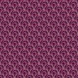 abstrakcjonistycznego okregów projekta wzoru bezszwowy wektor Zdjęcie Stock