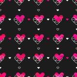 abstrakcjonistycznego pojęcia kierowy ilustracyjny wizerunku miłości deseniowej przestrzeni tekst Zdjęcia Stock