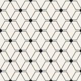 Abstrakcjonistycznego pojęcia wektorowy monochromatyczny geometryczny wzór Czarny i biały minimalny tło Kreatywnie ilustracyjny s Zdjęcie Stock
