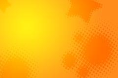 abstrakcjonistycznego pomarańczowy tła żółty Obrazy Royalty Free