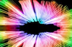 Abstrakcjonistycznego prędkość ruchu lekkie linie Obraz Royalty Free