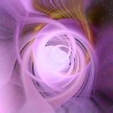 Abstrakcjonistycznego projekta Kolorowi twirls i okółki ilustracja wektor