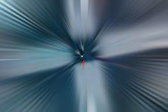 Abstrakcjonistycznego promieniowego zoomu gradientowa plama obraz stock