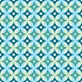 Abstrakcjonistycznego rocznika geometrycznego tapety wzoru bezszwowy tło royalty ilustracja