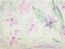 Abstrakcjonistycznego rocznika kwiecisty tło robić z kolorów filtrami Fotografia Stock