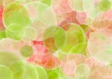 abstrakcjonistycznego środowisk kolorowa owoców Zdjęcie Royalty Free