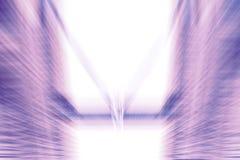 Abstrakcjonistycznego ruchu zamazany zaawansowany technicznie tło Obraz Stock