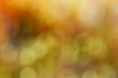 Abstrakcjonistycznego spadku bokeh barwiony tło Zdjęcia Royalty Free