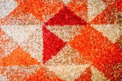 Abstrakcjonistycznego stały bywalec pasiasty bezszwowy wzór Geometrical kształt zdjęcia royalty free