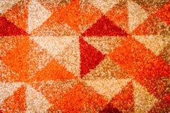 Abstrakcjonistycznego stały bywalec pasiasty bezszwowy wzór Geometrical kształt zdjęcie royalty free
