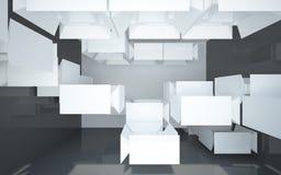 abstrakcjonistycznego sufitu skomplikowany wnętrze Obrazy Royalty Free