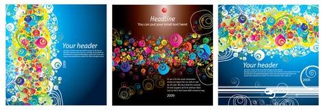 abstrakcjonistycznego sztandaru kolorowy grunge Fotografia Royalty Free