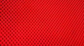 Abstrakcjonistycznego tła czerwony poliester w siatce ilustracja wektor