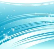 abstrakcjonistycznego tła błękitny świeży Zdjęcia Royalty Free