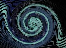 abstrakcjonistycznego tła błękitny futurystyczny Fotografia Stock