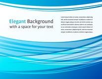 abstrakcjonistycznego tła błękitny horyzontalny Obraz Royalty Free