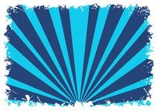 abstrakcjonistycznego tła błękitny pluśnięcie paskuje biel Zdjęcie Royalty Free