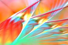 abstrakcjonistycznego tła błękitny pomarańczowa czerwień Fotografia Royalty Free