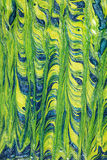 abstrakcjonistycznego tła błękitny zieleń Zdjęcia Stock