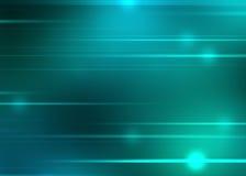 abstrakcjonistycznego tła błękitny zieleń ilustracji