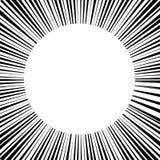 abstrakcjonistycznego tła biały okrąg otaczający liniami royalty ilustracja