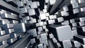 abstrakcjonistycznego tła bloku dynamiczna grafika Obraz Stock
