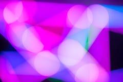 abstrakcjonistycznego tła bokeh kolorowy światło Obrazy Stock