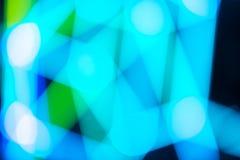 abstrakcjonistycznego tła bokeh kolorowy światło Fotografia Royalty Free