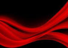 Abstrakcjonistycznego tła czerwony kolor ilustracja wektor