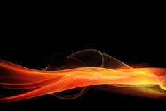 abstrakcjonistycznego tła czerwony rozjarzona Obrazy Stock