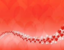 abstrakcjonistycznego tła dzień szczęśliwy valentine Zdjęcia Stock