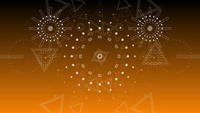 Abstrakcjonistycznego tła fajerwerków Graficzny wybuch 2016 4K zbiory