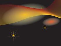 abstrakcjonistycznego tła fantastyczna muzyki przestrzeń ilustracji