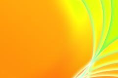 abstrakcjonistycznego tła fantastyczna zielona pomarańcze Fotografia Stock