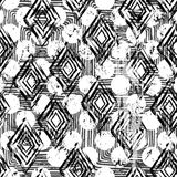 abstrakcjonistycznego tła geometryczny bezszwowy ilustracja wektor
